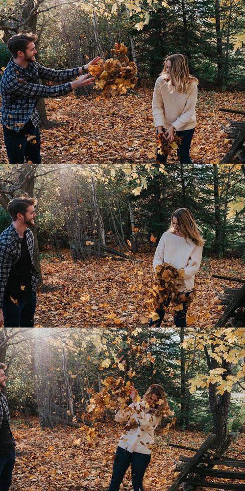 идеи для семейной фотосессии на природе осенью фото 4