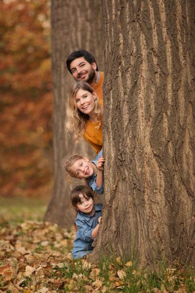 идеи для семейной фотосессии на природе осенью фото 2