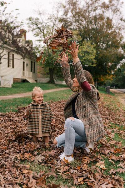 идеи для семейной фотосессии на природе осенью с детьми 9