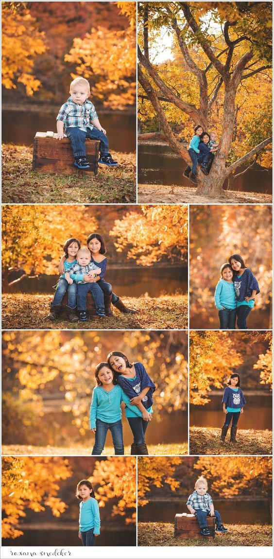 идеи для семейной фотосессии на природе осенью с детьми 4