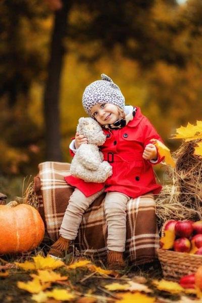 идеи для семейной фотосессии на природе осенью с детьми