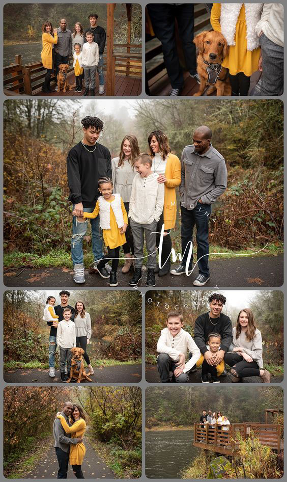 идеи оформления семейной фотосессии на природе осенью 9