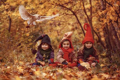идеи оформления семейной фотосессии на природе осенью 8