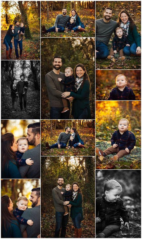 идеи оформления семейной фотосессии на природе осенью 7