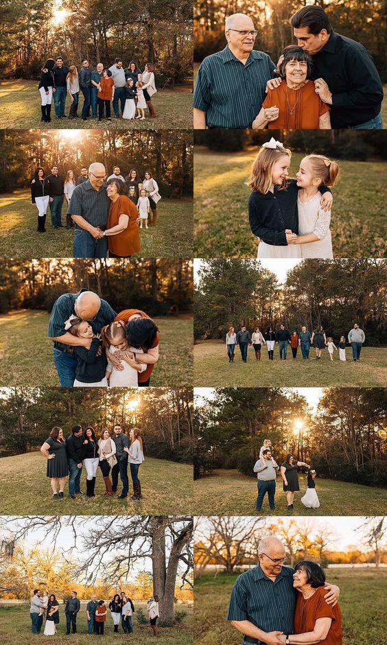 идеи оформления семейной фотосессии на природе осенью 6