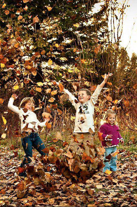 идеи оформления семейной фотосессии на природе осенью 5