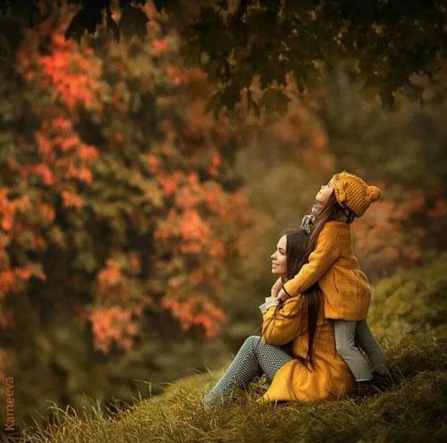 семейная фотосессия осенью на природе идеи фото с детьми 9