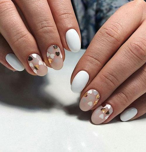маникюр на короткие ногти осень 2021 года
