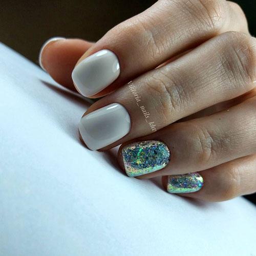 маникюр 2021 осень короткие ногти модный цвет 7