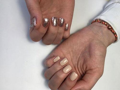 маникюр 2021 осень короткие ногти модный цвет