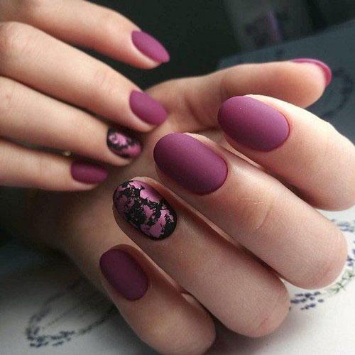 маникюр 2021 осень короткие ногти нежный дизайн 2