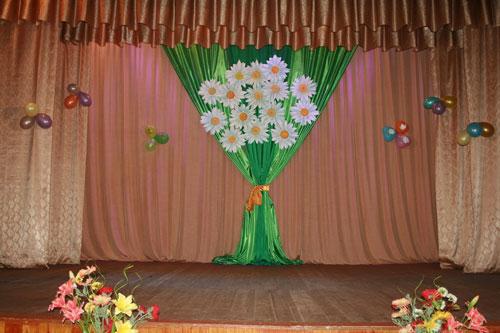 украшение зала ко дню учителя своими руками
